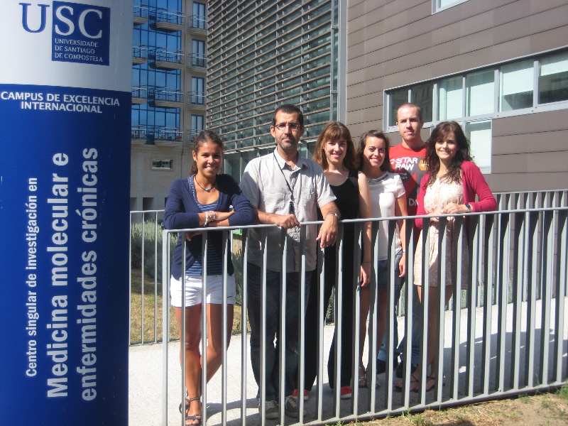 O Grupo Ciclon, liderado polo investigador Anxo Vidal, traballa no CIMUS da USC.