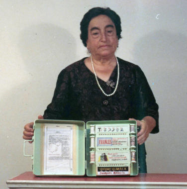 Ángela Ruiz Robles, inventora da Enciclopedia Mecánica.