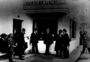 Antiga botica de Pontevedra.