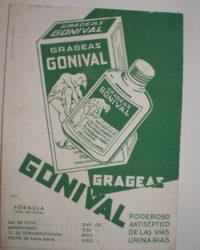 Gonival, de Laboratorios Orzán, para a gonorrea.