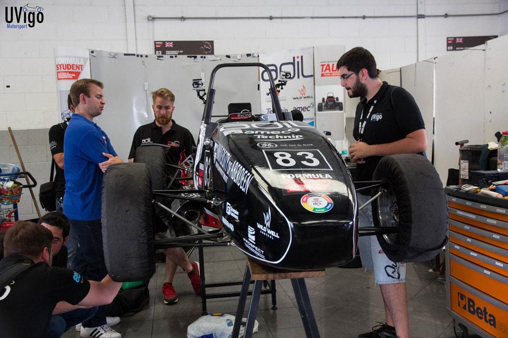 UVigo Motorsport en Silverstone