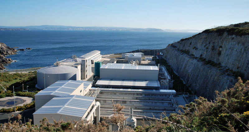 Estación Depuradora de Cabo Prioriño