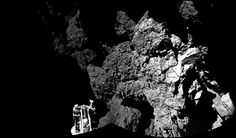 Philae no cometa