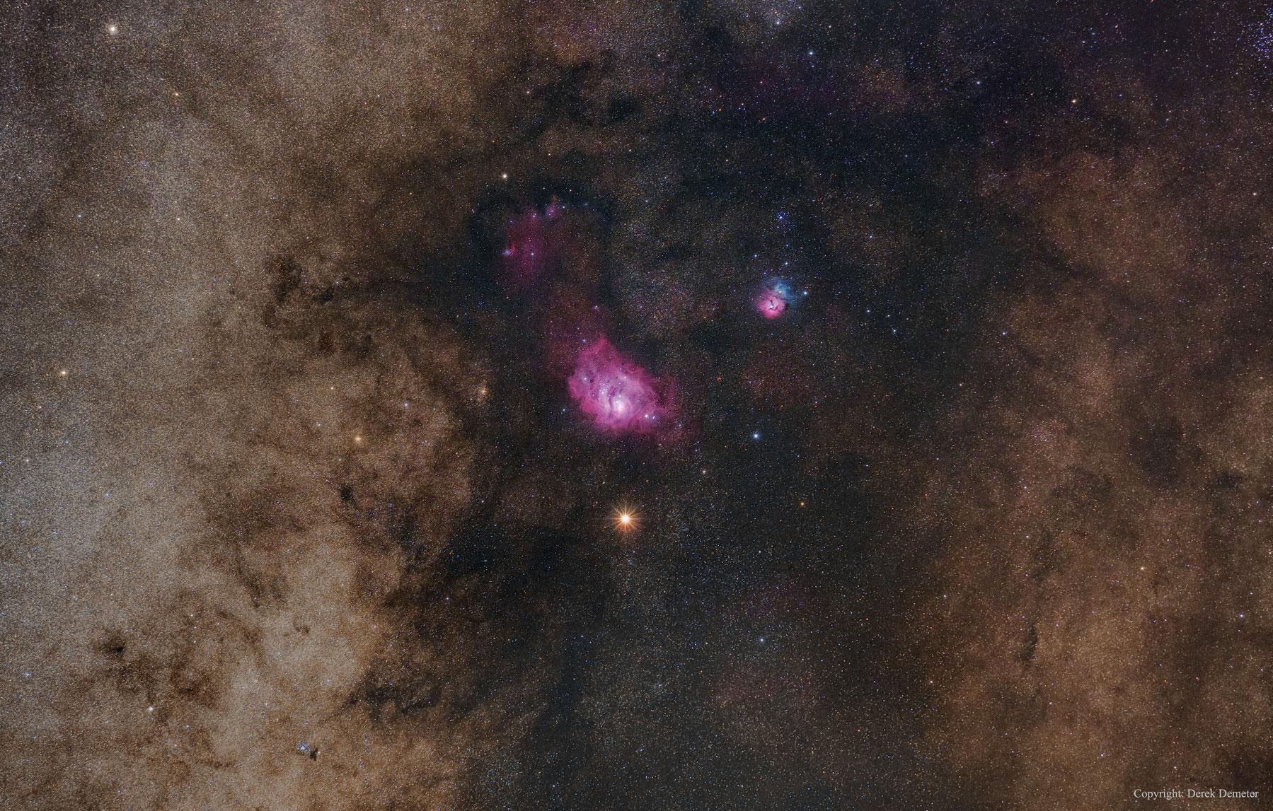 Nebulosa Vermella da Lagoa