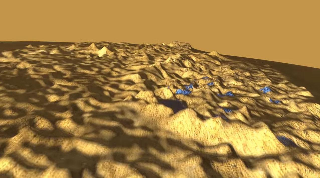 Sobrevoando Titán