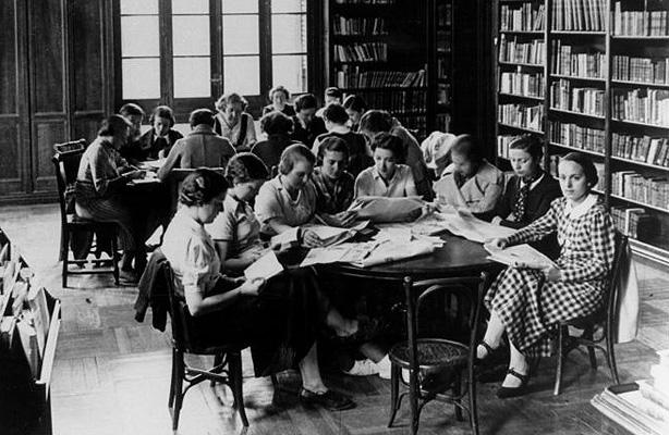Imaxe da Residencia de Señoritas, versión para mulleres da Residencia de Estudantes.