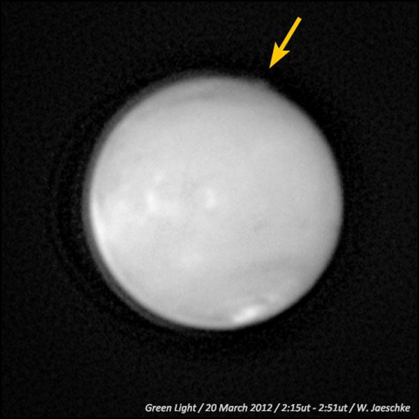 Estraños penachos sobre Marte