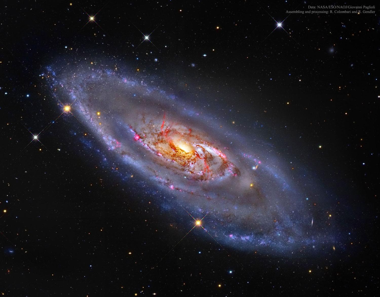Galaxia espiral M106