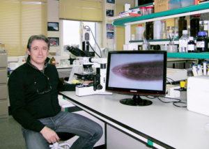 Raúl Iglesias, investigador de Bioloxía da UVigo