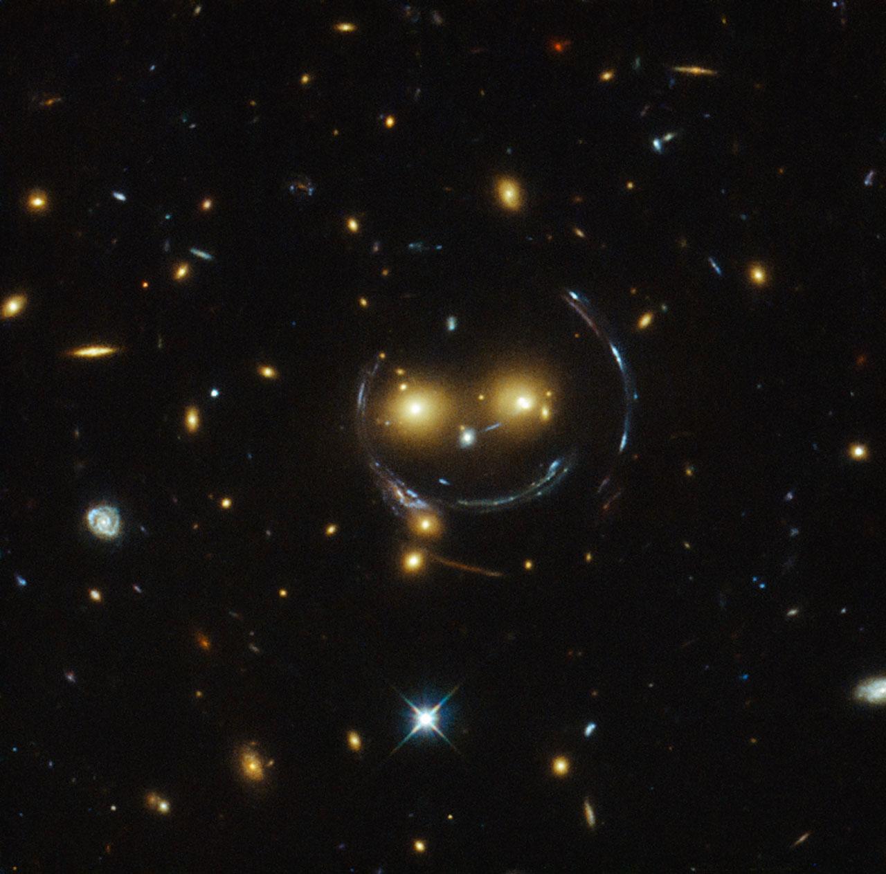 Smiley no espazo
