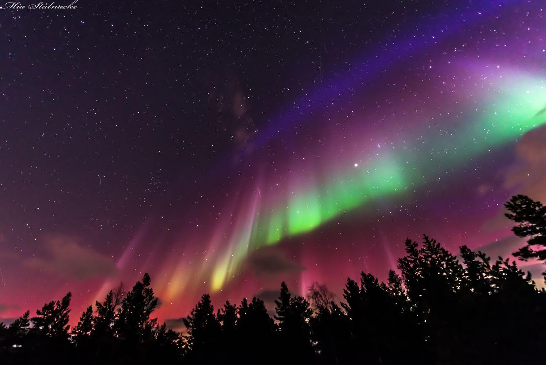 Aurora en Suecia