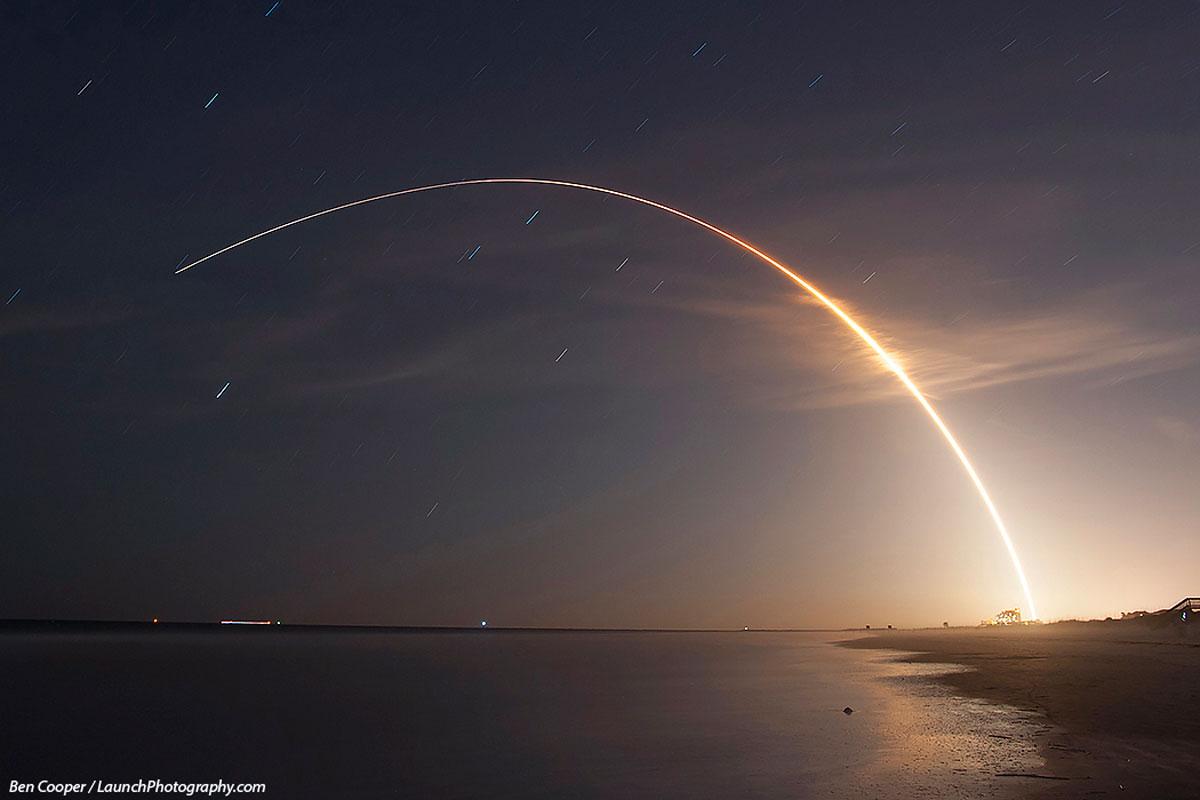 O Atlas V lanza o MMS