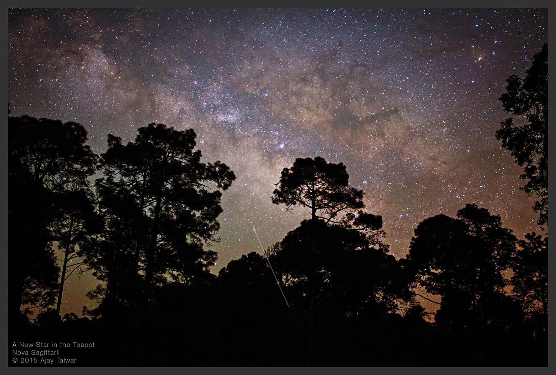 Nova Sagittarii 2015 Nº 2 a simple vista