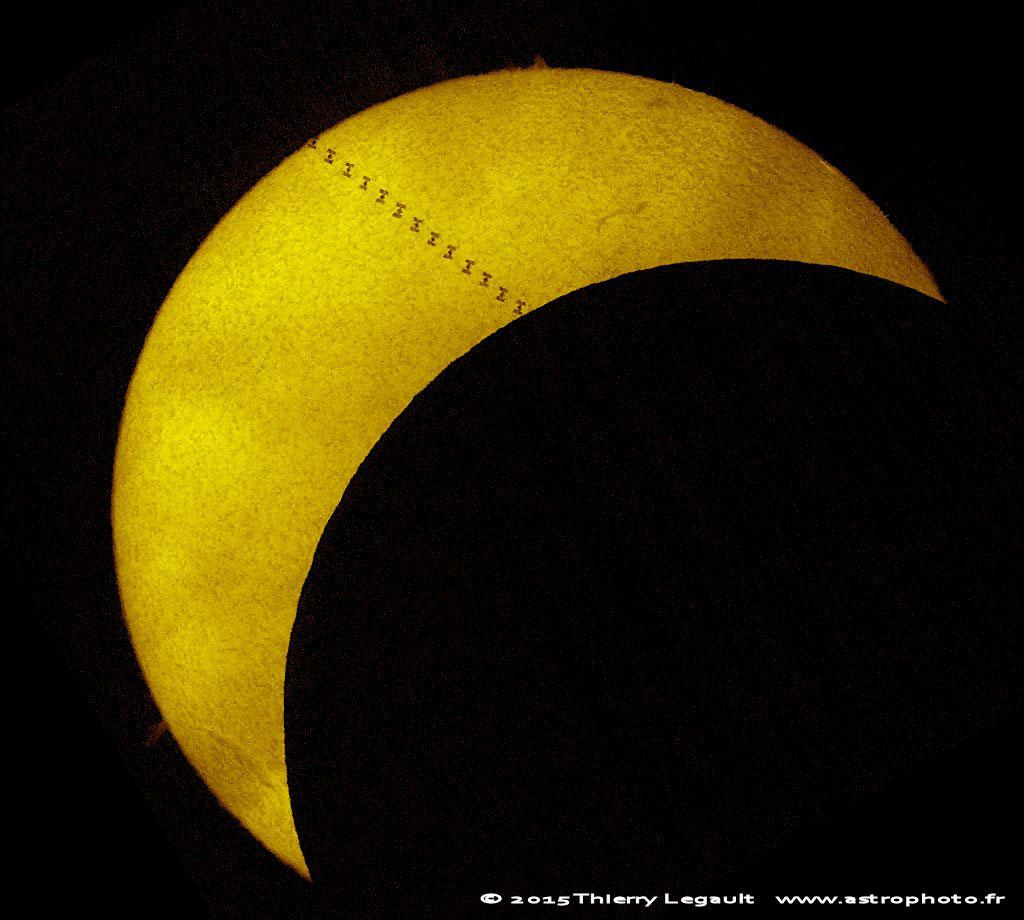 eclipse dobre de Sol