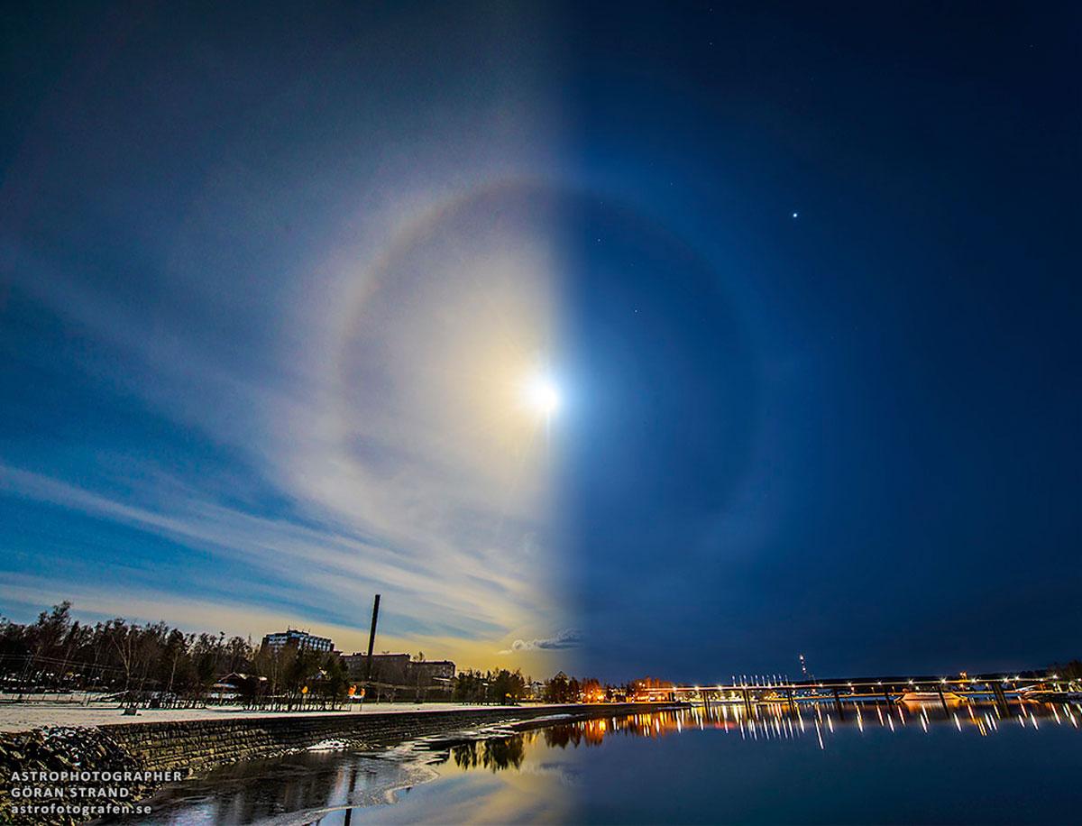 Halo solar e lunar