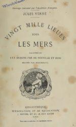 '20.000 leguas baixo dos mares' comezou a publicarse en 1869.
