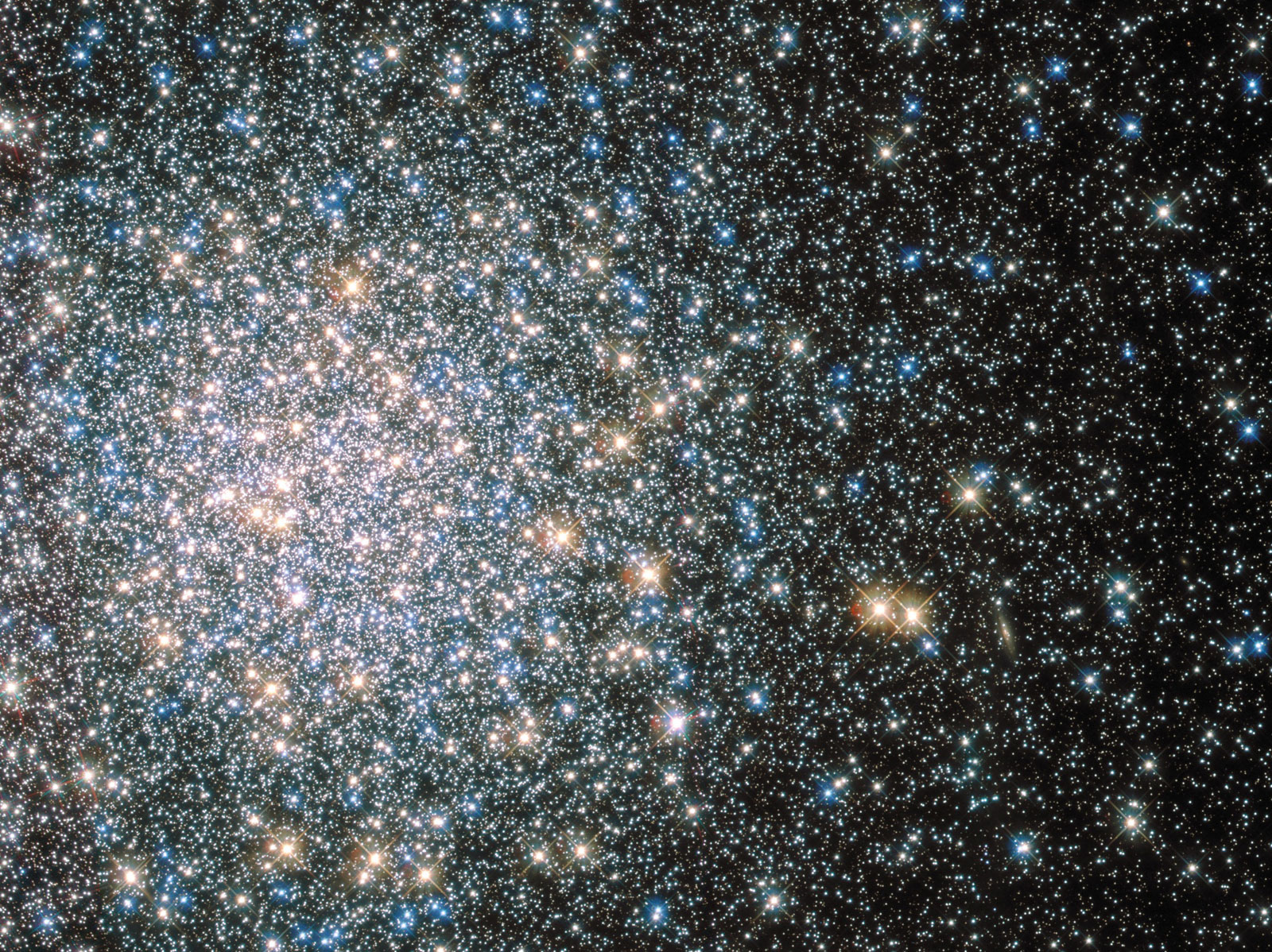 O Messier 5 do Hubble