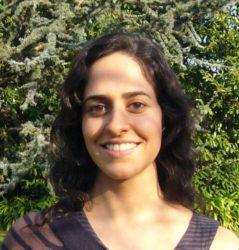 A investigadora Lucía Pereira.