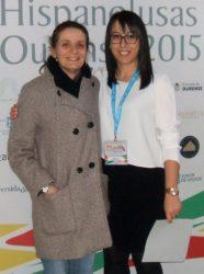 Sara Fernández e María Jesús Rodríguez Gulías.