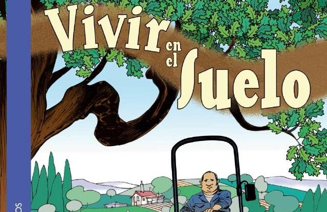 O cómic 'vivir en el suelo' é a edición en castelán dunha obra do Consello da Cultura Galega.