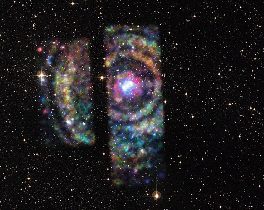 Image Credit: X-ray – NASA/CXC/Univ. Wisconsin-Madison/S.Heinz et al, Optical – DSS