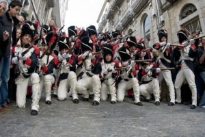 Recreación da Reconquista de Vigo.