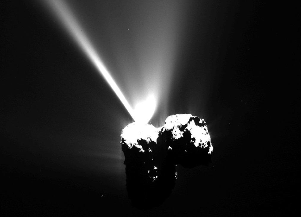 Créditos da imaxe: ESA / Rosetta / MPS for OSIRIS Team.