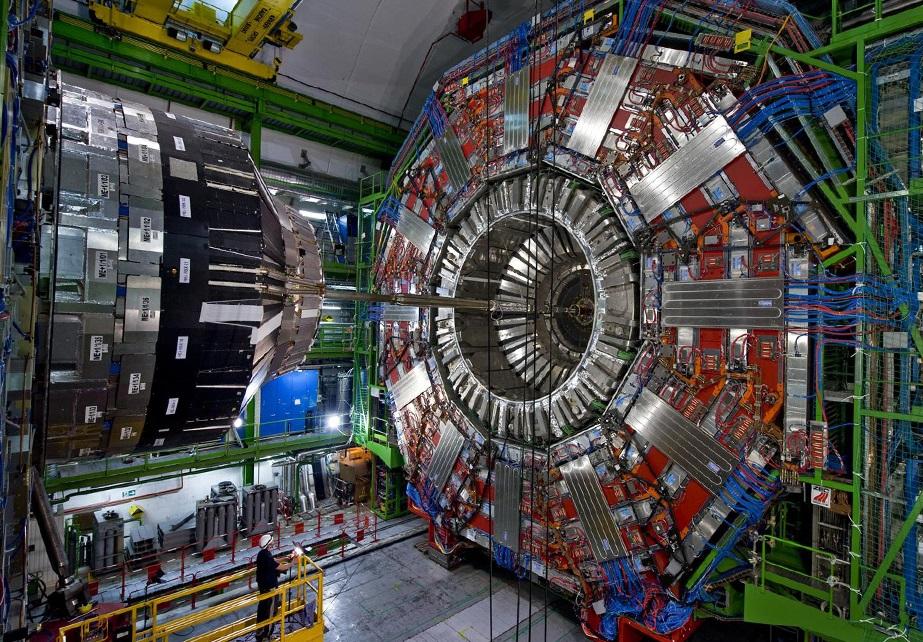 O Gran Colisionador de Hadróns do CERN.