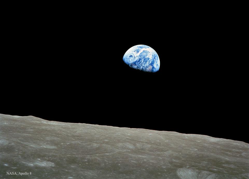 Créditos da imaxe: Apollo 8, NASA.
