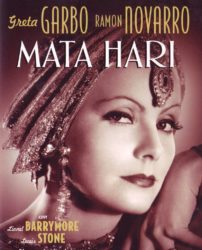 Greta Garbo inmortalizou a Mata-Hari no cinema.