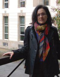 Ascensión Enjo, autora da tese.
