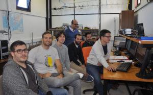 Enxeñeiros da Agrupación Aeroespacial controlan o paso do Serpens en órbita sobre Galicia.