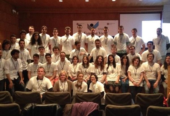 Participantes na primeira edición de 3Day Startup en Vigo.