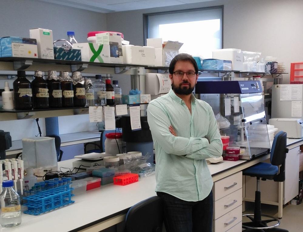 Antón Barreiro, investigador do CIBUS da Universidade de Santiago.