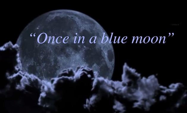 A canción 'Bluemoon' ten relación co fenómeno da Lúa Azul, moi popular nos Estados Unidos.