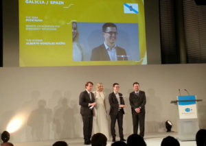Os gañadores do premio recolleron o seu galardón en Berlín este martes