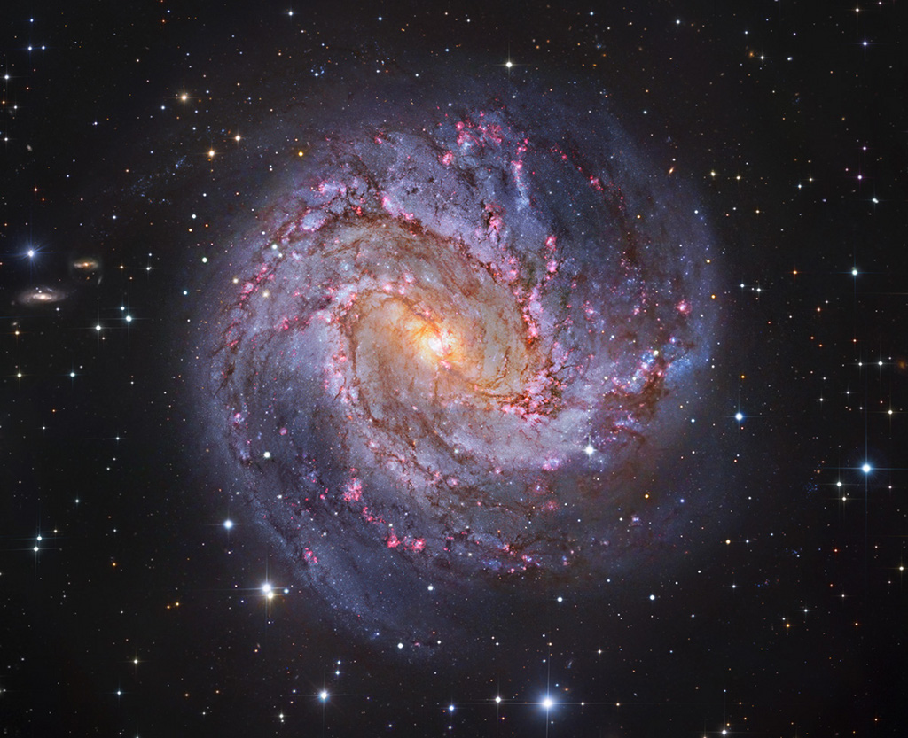 European Southern Observatory – Procesado e copyright: Robert Gendler.
