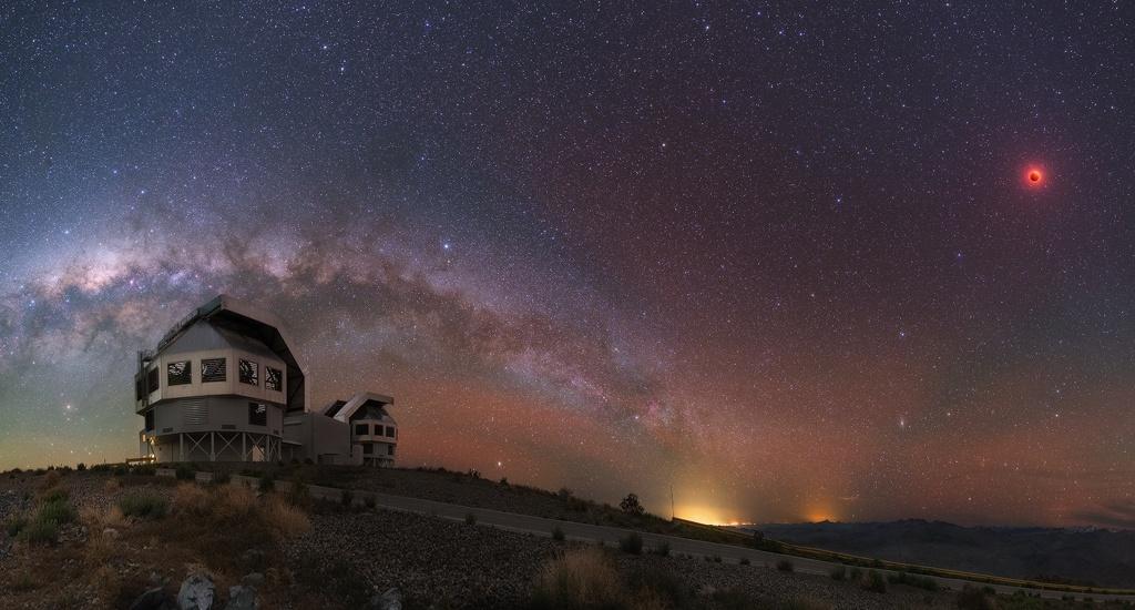 Créditos da imaxe e copyright: Yuri Beletsky (Carnegie Las Campanas Observatory).