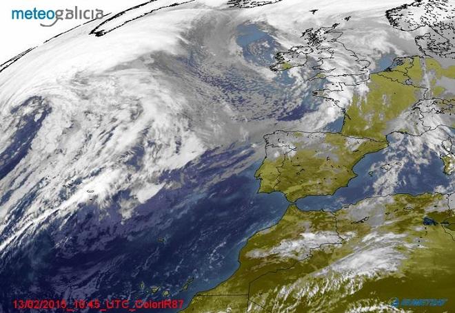 O fenómeno de 'El Niño' provocará máis choivas en Galicia este outono.