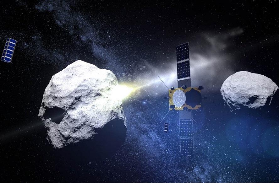 A Agrupación Aeroespacial asina un contrato coa ESA para a misión que en 2021 impactará contra un planetoide