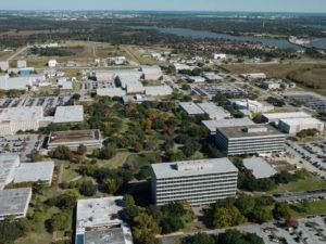 Instalacións do Johnson Space Center da Nasa en Houston