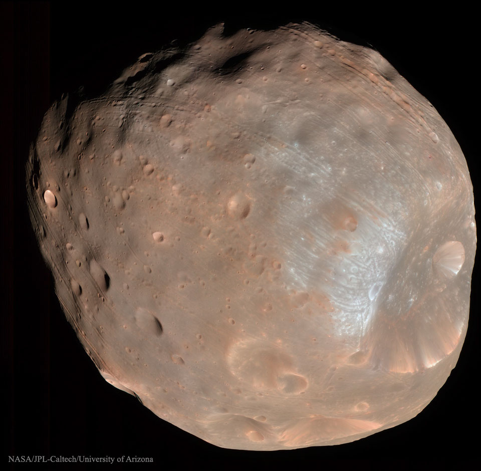 Créditos da imaxe: HiRISE, MRO, LPL (U. Arizona), NASA