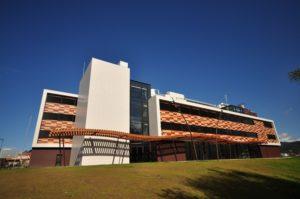 Edificio de Porto do Molle que acollerá o Centro de Innovación Aeroespacial.