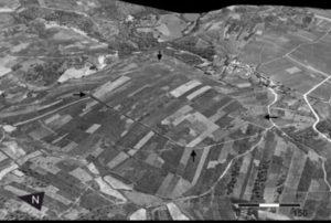 Fotografía aérea permite localizar novos fortes romanos.