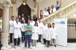 Investigadores representantes dos 15 proxectos de CaixaImpulse.