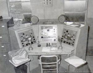 Centro de transmisións na base estadounidense de Estaca de Bares. Foto: estacadebares.com