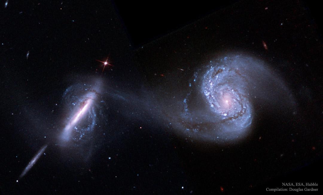 Créditos da imaxe: NASA, ESA, Hubble Space Telescope; Procesado: Douglas Gardner