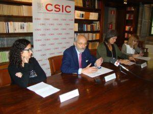 Presentación do Mes da Ciencia do CSIC Galicia.
