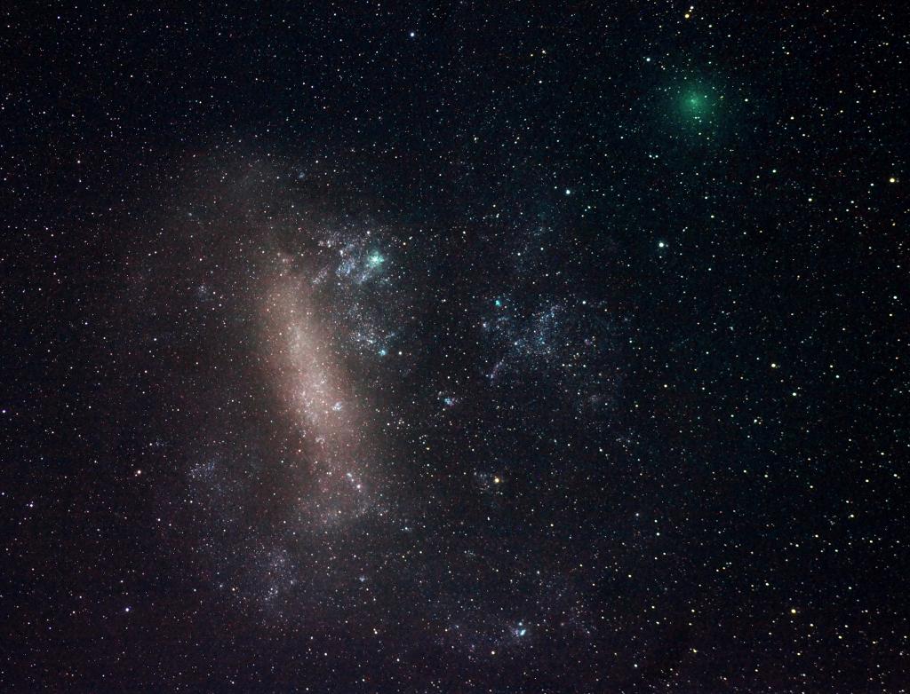 Créditos da imaxe e copyright: Justin Tilbrook (Astronomical Society of South Australia)