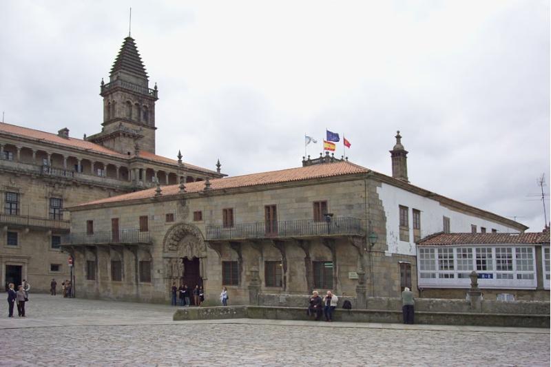 Colexio de San Xerome, onde se celebrou a reunión do Consello da USC.